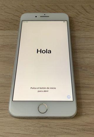 iPhone 8plus plata (64gb)