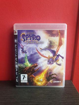 Juego La Leyenda de Spyro La Fuerza del Dragon PS3