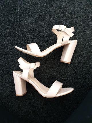 Ladies strappy high heels
