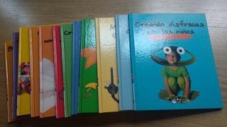 Colección manualidades para niños 12 libros
