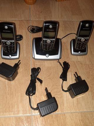 teléfonos trio Motorola