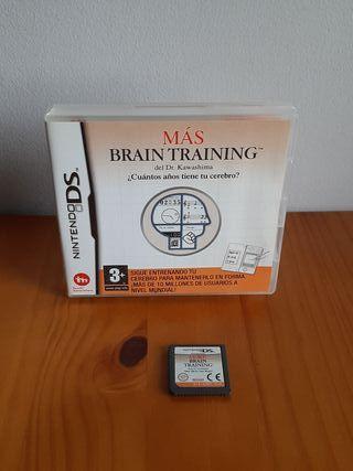 MAS BRAIN TRAINING - NINTENDO DS