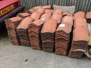 Reclaimed Clay Pantiles