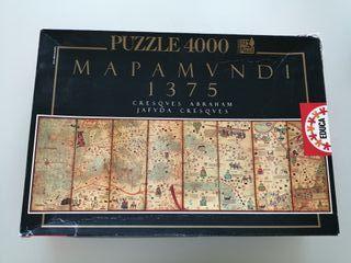 Puzzle Mapamundi Educa 4000 piezas