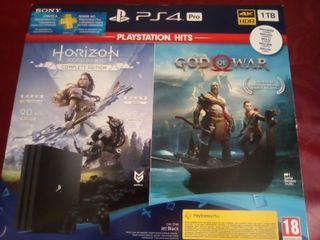 Caja PS4 PRO 1 Tb PlayStation 4