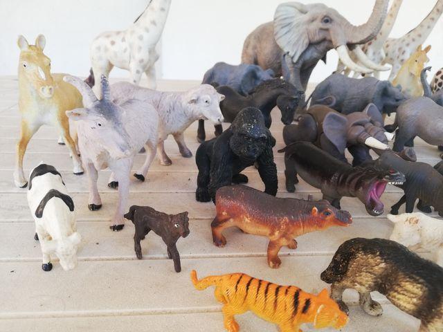 Lote animales de juguete