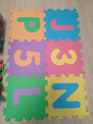 36 piezas alfombra goma eva