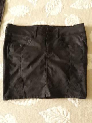 Falda negra ajustada G-Star Raw