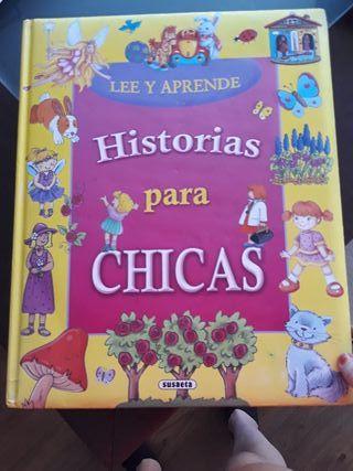 """libro infantil """"Historias para chicas"""""""