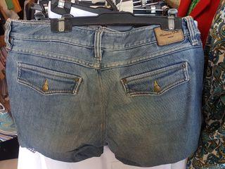 Pantalon corto vaquero