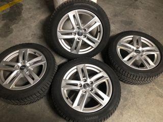 """Llantas 17"""" Audi con gomas"""