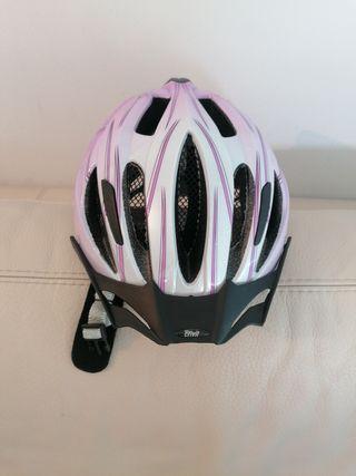Casco protección bicicleta
