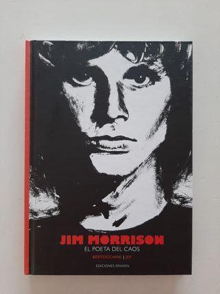 Cómic Jim Morrison el poeta del caos