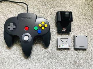 Nintendo 64 Games Console, Controller, 7 Games +..