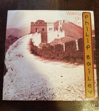 Philip Bailey. Walking on the Chinese Wall. Single