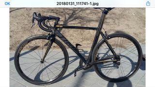Bicicleta carbón