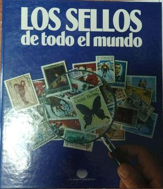 Colección de sellos de todo el mundo