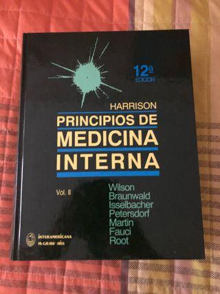 Principio de la medicina interna. 2 libros