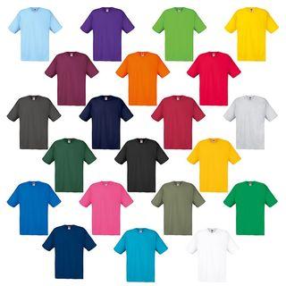Lote camisetas Fruit of the Loom