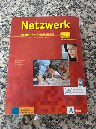 Libro de Alemán Netzwerk A1.2
