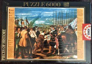 Puzzle 6000p. - Velázquez - La Rendición de Breda