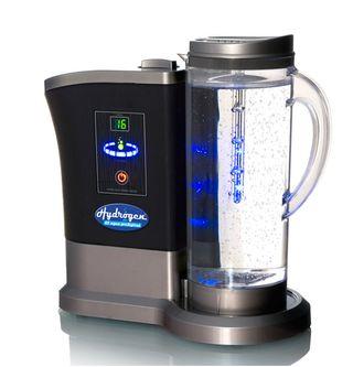Hydrogen. Jarra de agua hidrogenada