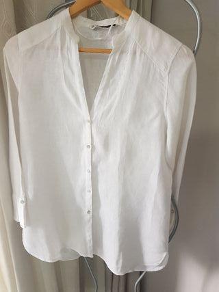 Bluza blanca Zara