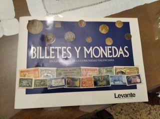 Billetes y monedas históricas