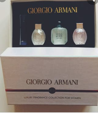giorgio armani luxury fragrance collection for wom