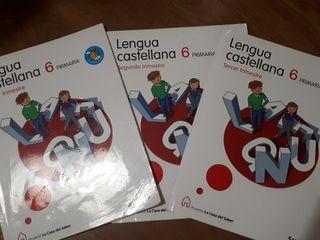 Libros Lengua Castellana 6 primaria