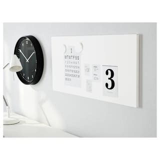 Panel imantado Ikea. Color blanco