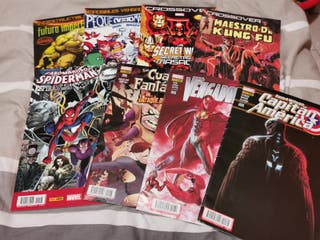 LOTE CÓMICS MARVEL