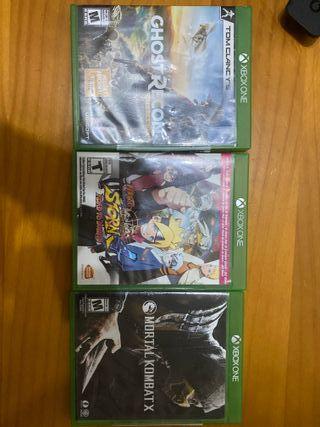 Consola Xbox One S con Juegos y Controles
