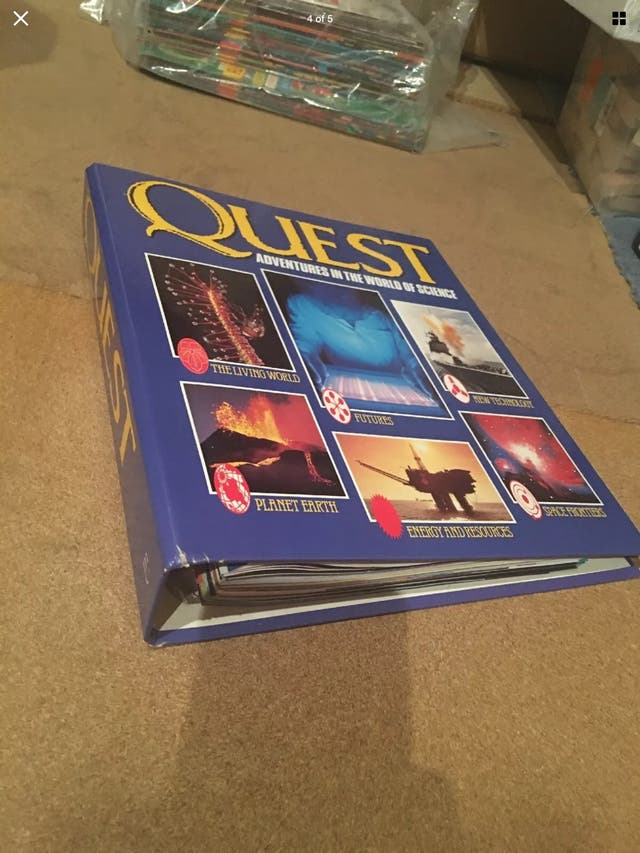 Quest Adventures in the World of Science Issues x2