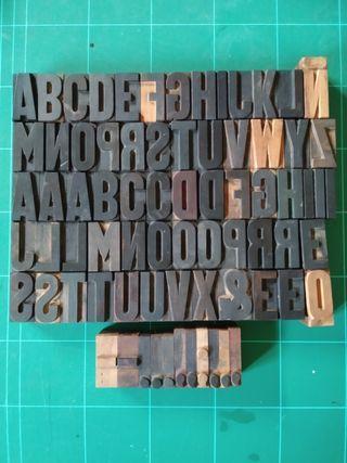 Tipografía de madera