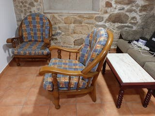 sofas de madera