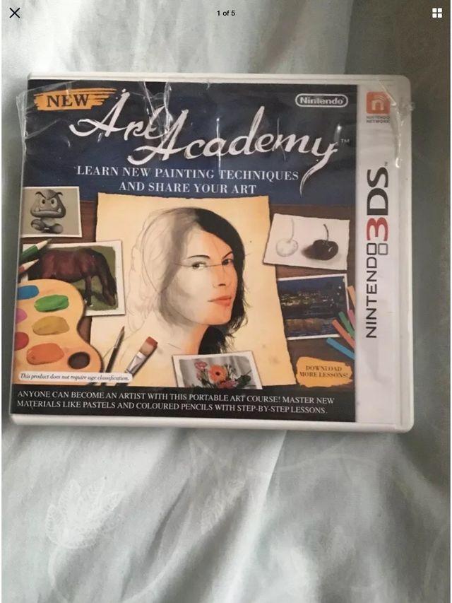 New Art Academy (Nintendo 3DS, 2012)