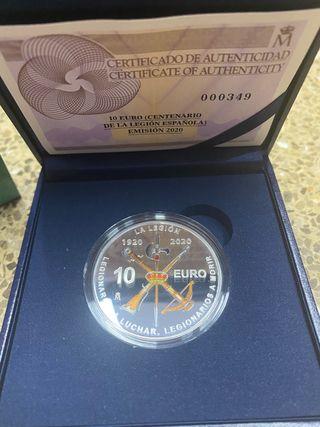 10€ Centenario de la Legión Española