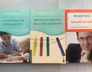 Libros de psicología de Bernabé Tierno