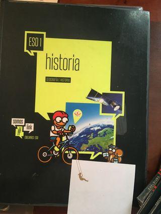 Libro 1 ESO Edelvives geografía e historia