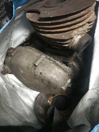Motores de lube 125 bloqueados