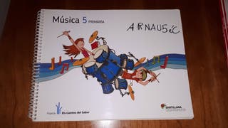 Libro Música 5º primaria 9788479189297