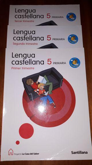 Lengua Castellana 5º primaria 9788429493207
