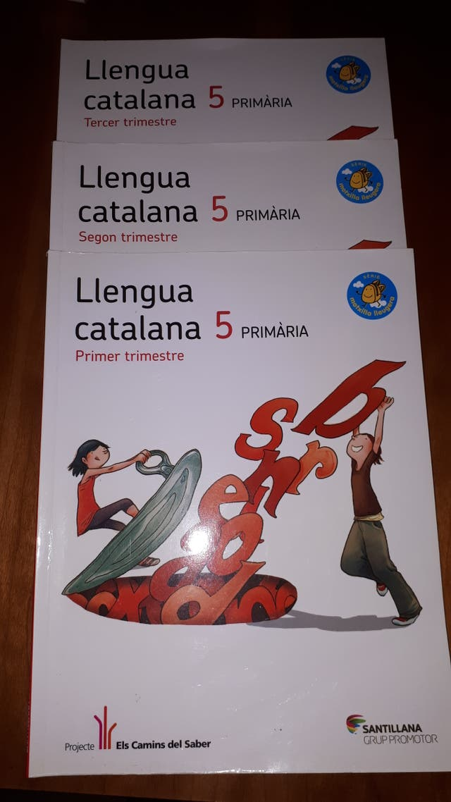 Libros Llengua Catalana 5º primaria 9788490473979