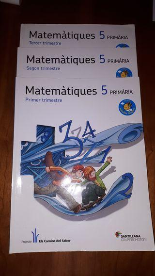 Libros Matemáticas 5º primaria 9788490474136