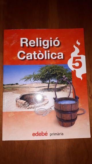 Libro Religió Catòlica 5º primaria 9788423693559
