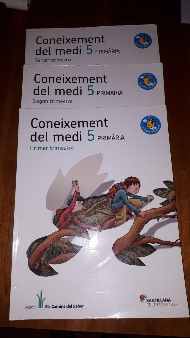Libros Medi 5º primaria 9788490474174
