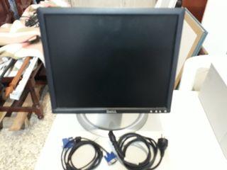 Monitor plano Marca Dell Modelo 1704FPTt