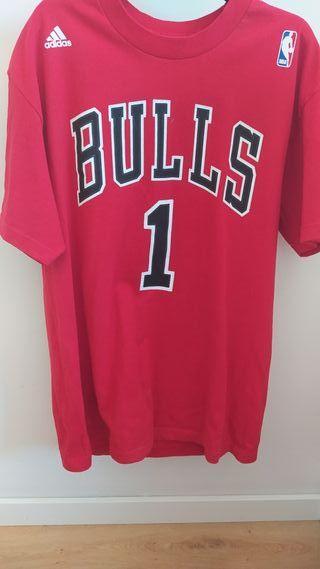 camiseta Adidas de los bulls
