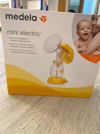 Saca leche eléctrico Medela y calientabiberón Jané
